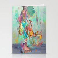 archan nair Stationery Cards featuring Soulipsism by Archan Nair