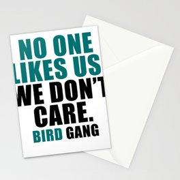 No one likes us. Stationery Cards