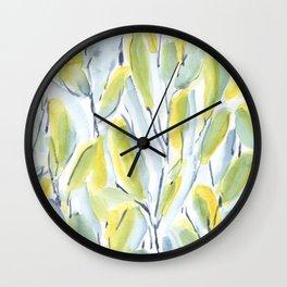 Growth Green Wall Clock