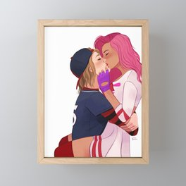 Kichiro x Allison Framed Mini Art Print