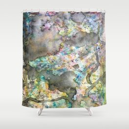 Spilled Chaos Shower Curtain