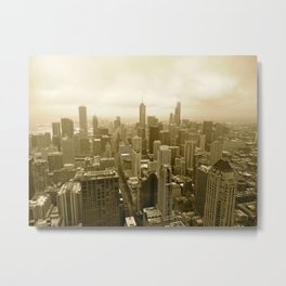 Chicago - View from John Hancock Metal Print