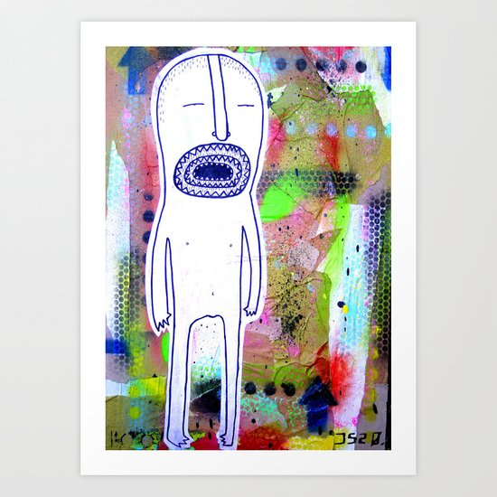 rotten mouth Art Print