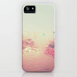 rainy reflections iPhone Case