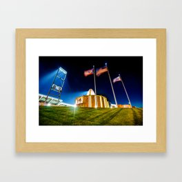 House of Greatness - NFL Pro Football Hall of Fame - Canton Ohio Framed Art Print