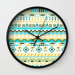 summer ethnic Wall Clock