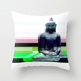 Buddha Variations 1 Throw Pillow