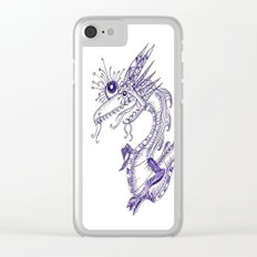 dragon ink Clear iPhone Case