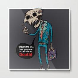 Death Religion Metal Print