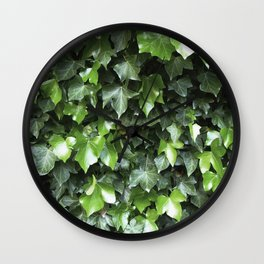 Evergreen Ivy Wall Clock