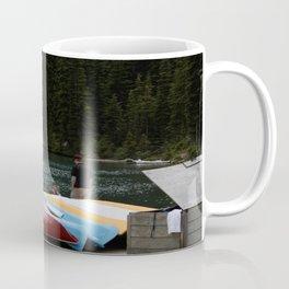 Moraine Lake kayaks Coffee Mug