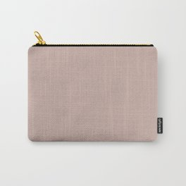 Light Pink - Pastel Rose  Solid Color Parable to Valspar Damask Dunes 1006-10B Carry-All Pouch