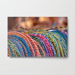 Concept Kaltblutmarkt 2018 : Ropes Metal Print