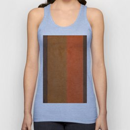 Shades of Brown Unisex Tank Top