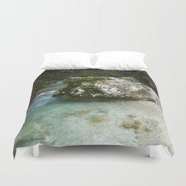 Soca River Gorge Duvet Cover