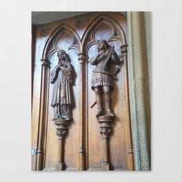 The Castle Door Canvas Print