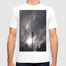 Nula'ain (Breathe) White MEDIUM Mens Fitted Tee