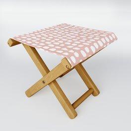 Dots / Pink Folding Stool