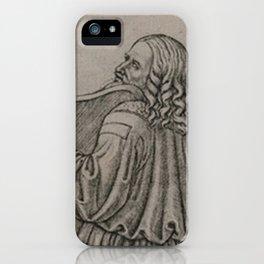 Da Vinci playing the Violin iPhone Case