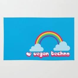 Vegan techno lovers, unite! Rug