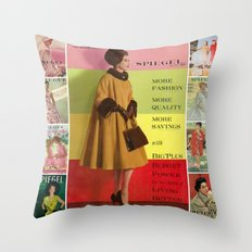 1961 Fall/Winter Catalog Cover Throw Pillow