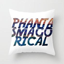 Phantasmagorical Throw Pillow
