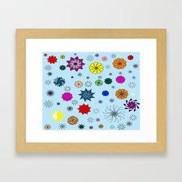 color me flaky Framed Art Print