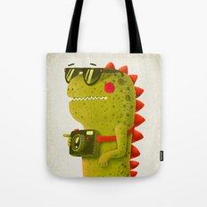 Dino touristo (olive) Tote Bag
