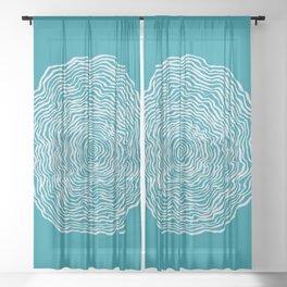 Whirlwind Sheer Curtain