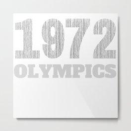 Trunchbull 1972 OLYMPICS Vintage  Metal Print