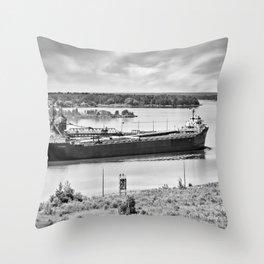 Lee A Tregurtha Throw Pillow