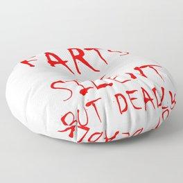 Silent But Deadly Floor Pillow