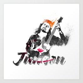 Junoon Art Print