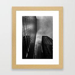 Downtown Toronto Fogfest No 4 Framed Art Print
