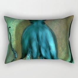 Octopus Ocean Shadow Dance Rectangular Pillow
