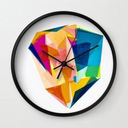Prism Gem Stone Wall Clock