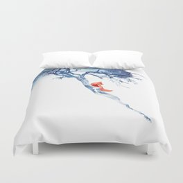 There's no way back Duvet Cover