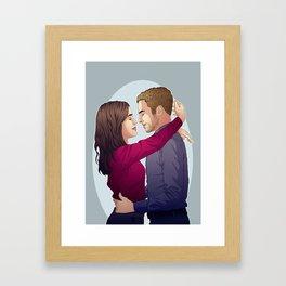 Fitzsimmons - Soft Embrace Framed Art Print