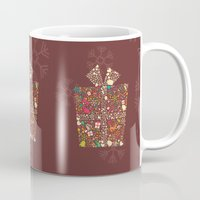 gift card Mugs featuring Christmas Gift 01 by BlueLela