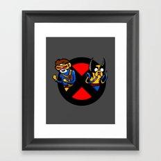 Mutant Time Framed Art Print