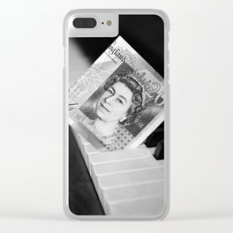 Piano keys £ 20 Clear iPhone Case