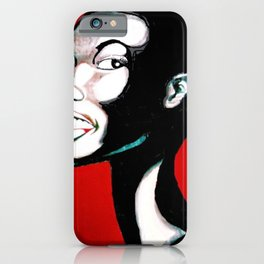 High Society the Lady In Waiting iPhone Case