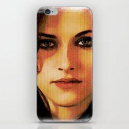 Kristen Stewart Portrait #2 iPhone Skin