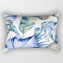 Bahamas - blue Rectangular Pillow