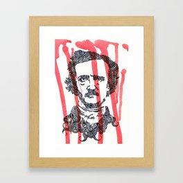 The Poe Framed Art Print