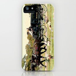 DADS LAST RIDE iPhone Case