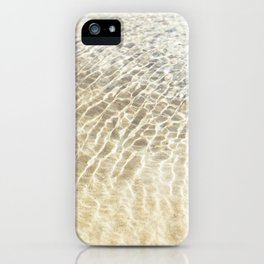 Beach Ripples iPhone Case