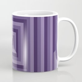 Purple Squares Coffee Mug