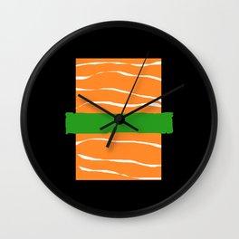 Sushi Kawaii Maki Nigiri Rice Japanese Food Wall Clock