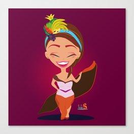 Tuti la Frutty/Character & Art Toy design for fun Canvas Print